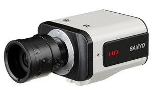 новая мегапиксельная видеокамера марки Sanyo