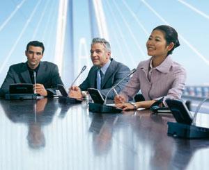 универсальная конференц система для конференций и совещаний