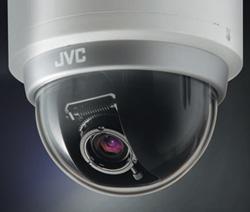 купольная камера видеонаблюдения марки JVC