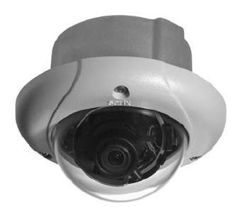 уличная купольная IP-камера Pelco
