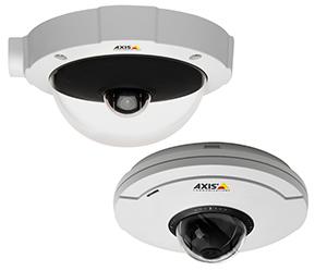 цветная поворотная видеокамера AXIS M5014 и вандалозащищенная модель M5014-V с разрешением HDTV 720p