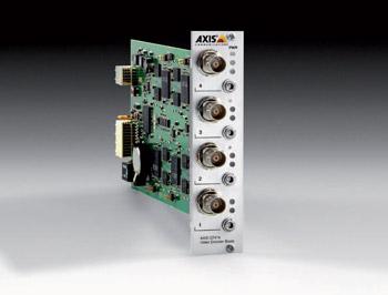 4-х канальный IP-видео сервер с H.264