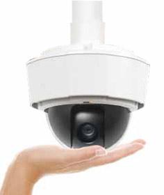 поворотные наружные видеокамеры AXIS P5512-E
