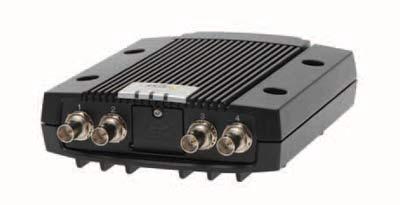 4-канальный видеокодер AXIS Q7424-R с 720×576 пикс. при 100 к/с