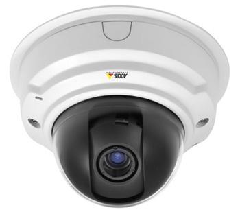 Сетевые охранные видеокамеры P3384-V/-VE с разрешением до 1280×960 пикс. при 25 к/с и WDR
