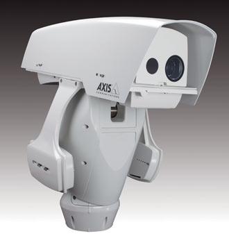 поворотный тепловизор с IP-камерой Q8721-E с разрешением VGA и HDTV