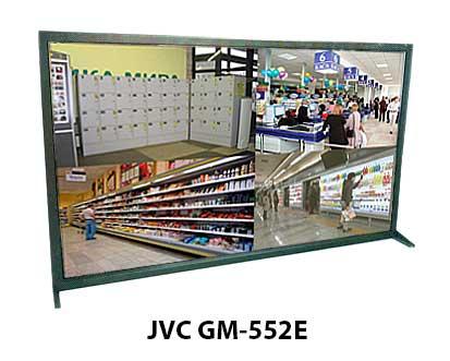 55-дюймовый монитор видеонаблюдения JVC GM-552E с HDTV 1080p