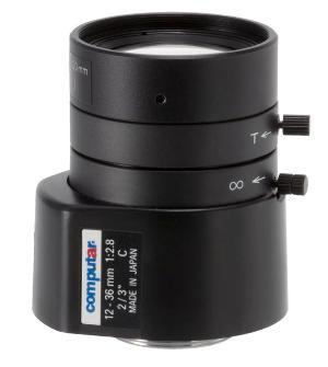 3 MP варифокальный объектив Computar MG3Z1228FC-MP