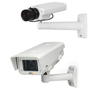 охранная IP-камера P1355 и уличная модель P1355-Е в кожухе с IP66