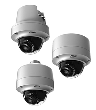 охранные уличные IP-камеры Pelco Sarix Professional серии IMP-1ER с ИК-прожектором