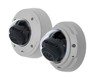мегапиксельные камеры с ИК подсветкой дальностью до 30 м серии Р33