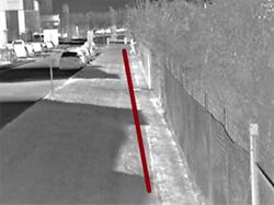 AXIS Q1931-E: тепловизионное изображение от камеры