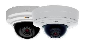 вандалозащищенные купольные IP-видеокамеры AXIS с вариообъективом с P-Iris диафрагмой