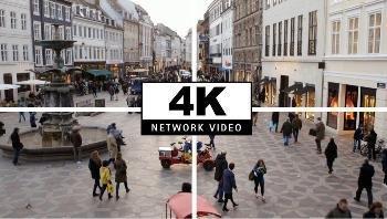 трансляция видео от IP-камеры AXIS P1428-E с разрешением 4K Ultra HD