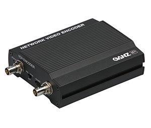 компактный IP-видеосервер GANZ ZS1-1DS с аудиоканалом и 8-зонным детектором движения
