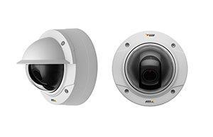купольные камеры наружного видеонаблюдения семейства AXIS Р32
