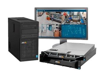 32-канальный IP-видеорегистратор AXIS Camera Station S1032 для сетевых камер