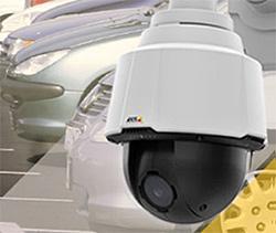 1 МР поворотная камера видеонаблюдения P5624-E с 18-кратным трансфокатором