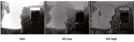 профессиональная камера тепловизор GANZ ZNT6-HBTх с функцией ICE