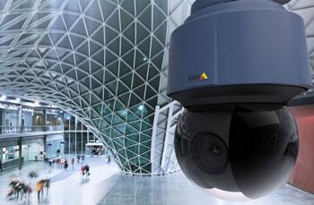 скоростные поворотные камеры видеонаблюдения AXIS Q6114-E с суммарным зумом до 360 крат