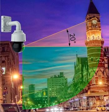 купольные поворотные камеры видеонаблюдения Q6114-E