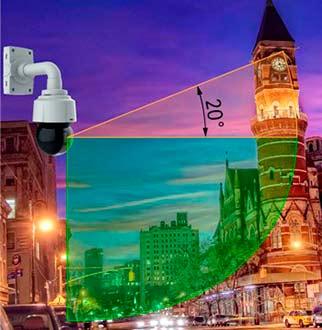 уличная PTZ видеокамера AXIS Q6115-E с High PoE и классами защиты IP66, NEMA 4X и IK08