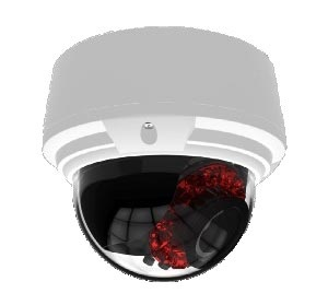 охранная IP камера с подсветкой, 4х вариообъективом и РоЕ ZN8-DANTVF59L