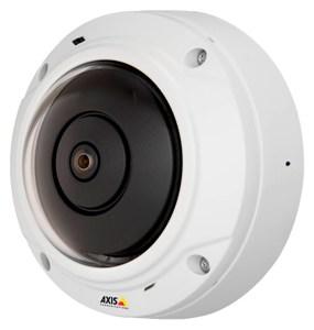 малогабаритная панорамная IP камера M3037-PVE с аудиоканалом и вандалозащитой IK10