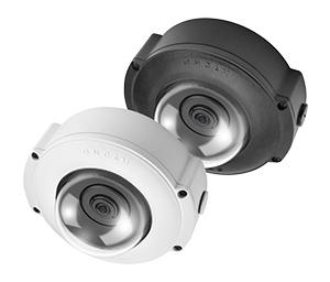 вандалозащищенная панорамная видеокамера 360 Pelco линейки Evolution 12 Outdoor с IP67/IK10 и электропитанием от источника 12 В пост. тока либо PoE IEEE 802.3af
