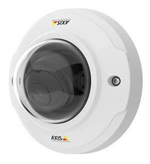 охранные 4 мегапиксельные IP камеры M3046-V с широкоугольной оптикой и вандалозащитой