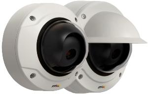 фиксированные антивандальные видеокамеры AXIS Q3504-V/VE с 3-9 мм Р-Iris вариообъективом