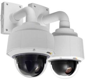 Speed Dome поворотная видеокамера AXIS Q6055 и ее модификация Q6055-Е с разрешением Full HD