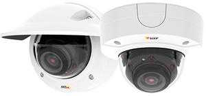 купольная камера высокого разрешения AXIS с PoE-питанием и технологией Zipstream