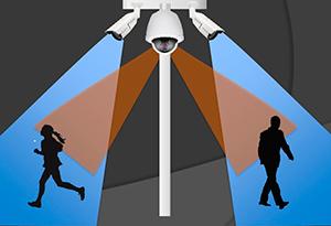 комплекс uTrack, включающий фиксированные и поворотные камеры GANZ