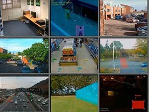 видеоаналитика VCA, с которой совместимы поворотные камеры GANZ IPX4602SV