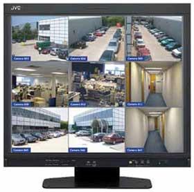 монитор видеонаблюдения