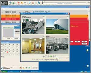 интерфейс пользователя охранно-пожарной системы STAM-2