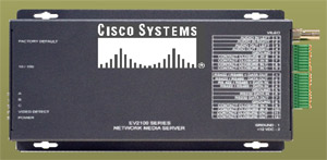 одноканальные IP-видеосерверы Cisco