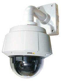 новая уличная камера с PTZ-функциями Axis