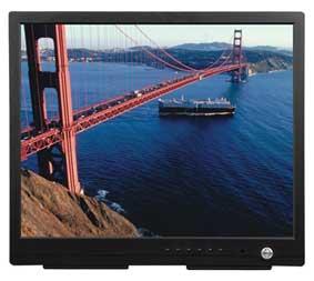 новые LCD-мониторы для систем видеонаблюдения