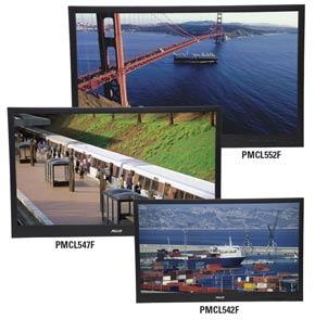 новые широкоформатные мониторы Pelco