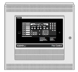 система сигнализации на базе панели 4100U Single Bay