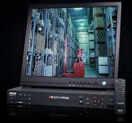бюджетные 4 канальные видеорегистраторы Pelco