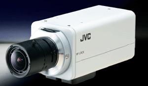 цветная камера видеонаблюдения марки JVC